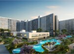 This is the rendered image of Overview Adarsh Greens